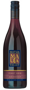 Matua Valley Pinot Noir, Marlborough, New Zealand