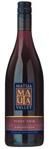 Matua Valley Pinot Noir, Marlborough, NewZealand